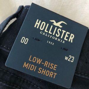 Hollister cotton shorts NWT